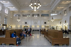 Old train station new renovation Royalty Free Stock Images