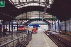 Old Train Station. Platform, copenhagen, travel building Royalty Free Stock Photography