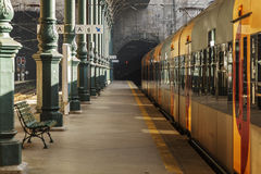 Old Train Station. Porto old railway station Sao Bento Royalty Free Stock Images