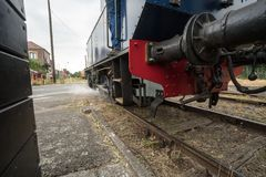 An old train stock image