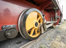 An old train royalty free stock photo