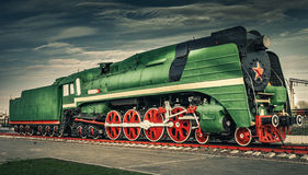 The old train Royalty Free Stock Images