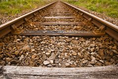 Old train track Stock Photography
