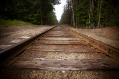 Old Train Track Royalty Free Stock Photos