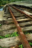 Old Train Tracks Royalty Free Stock Photography