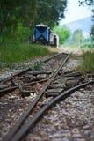 Old train tracks Stock Image