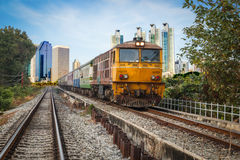 Old Train transport Stock Photography