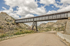 Old Train Trestle in Castle Country Royalty Free Stock Photography