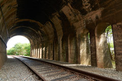 Old train tunnel Stock Images