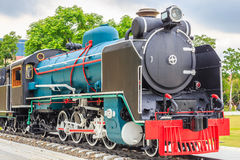 Old train vintage style. Royalty Free Stock Photography