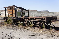 Old train wagon Stock Images
