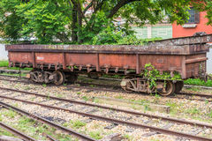Old train wagon in Sao Joao Del Rey Royalty Free Stock Photography