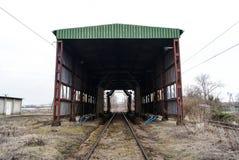 Old train wash. In Przemyśl Royalty Free Stock Image