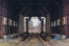 Old train wash. In Przemyśl Royalty Free Stock Photography