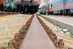 Old train way Stock Images