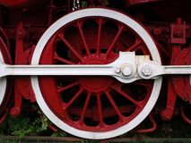 Old Train Wheel Stock Photography