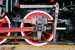 Old Train Wheel Stock Photography