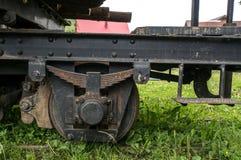 Old train wheel Stock Image