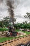 Old train (Maria Fumaca) in Tiradentes, a Colonial city Royalty Free Stock Photo