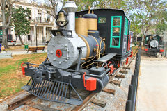 Old trains of cuba Royalty Free Stock Photos