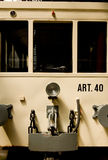 Old Tram. I shot this picture of an old tram in the museum in Antwerp, Belgium Stock Photography