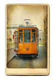 Old tram stock images