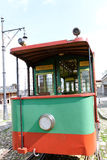 Old tram. Royalty Free Stock Images