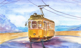 Old tram Royalty Free Stock Photos