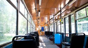 Old tram Stock Photography