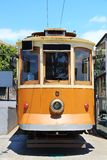 Old tram in Porto, Portugal Royalty Free Stock Images