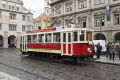 The old tram Royalty Free Stock Images