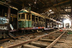 Old Tram Shed Stock Photos