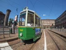 Old tram in Turin Stock Photos