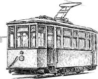 Old tram Stock Photos