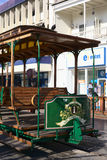 Old Tram Waggon on Plaza Prat Main Square in Iquique, Chile Stock Image