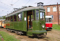 An old tram wagon Stock Image