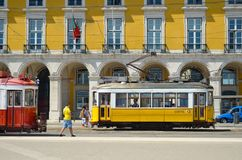 Old trams Stock Photos