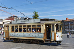 Old trams in Porto, Portugal Stock Photography