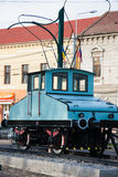 Old Tramway. Of Oradea, celebrating 150 of technical innovation in Oradea, Electric Locomotive Siemens stock photography