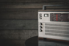 Old transistor radio Royalty Free Stock Images