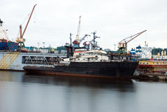 Old Transportation Ship Royalty Free Stock Image
