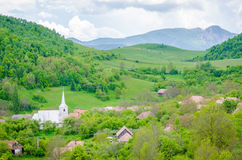 Old Transylvanian rural village Royalty Free Stock Images