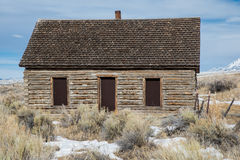 Old trapping cabin from early 1900 Royalty Free Stock Photography