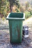 Old trashcan Royalty Free Stock Photos