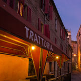Old trattoria Royalty Free Stock Photography
