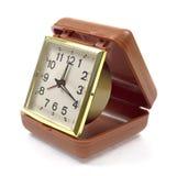 Old travel alarm clock Stock Photos