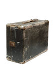 Old travel bag. Old travel vintage bag from wood Royalty Free Stock Image