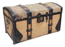 Old travel box Royalty Free Stock Image