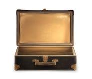 Old travel suitcase Stock Photo