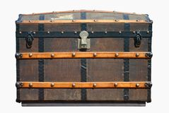 Old Travel Trunk Stock Photos
